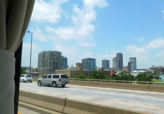 The Little Rock, AR skyline - at least most of it.
