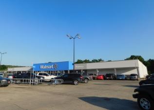 The unusually small Walmart in Henryetta, Oklahoma where we spent the hot, humid evening and night.