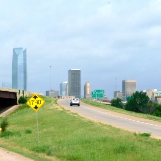 A portion of the Oklahoma City skyline.