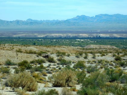 Kalifornistan's beautiful Mojave Desert.