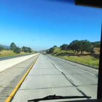 The rough old CA58 heading down the Tehachapis toward the Central Valley and Bakersfield.