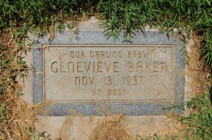 Baby Genevieve would have been Lavonne's oldest sibling. Sadly, she was stillborn.