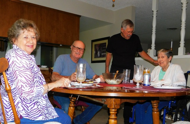 2019-9-11j Dinner with Gale and John