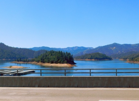 Lake Shasta was pretty high for September. Here's hoping for another wet rainy season!