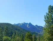 Beautiful Castle Crags near Mt. Shasta