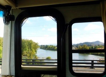The Willamette River - as seen from Big Blue.