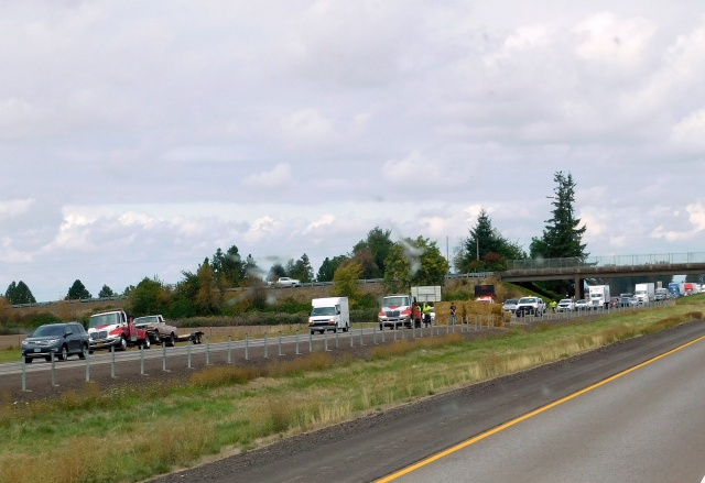 2019-9-13g I-5 accident backed up over 5 miles