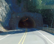 A tunnel we drove through on OR58.