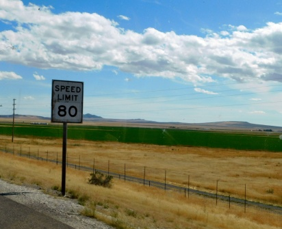Utah is pretty cool about speed, too.