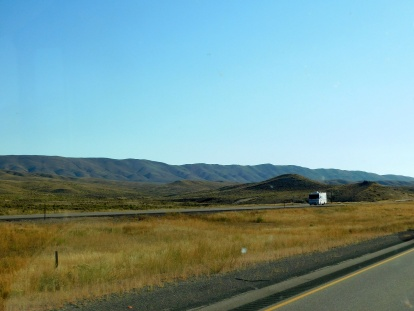What a wonderful way to start the day - the wide open I-80 with little traffic and the vastness of Wyoming to enjoy!