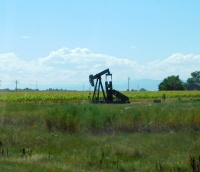 It must be nice to grow crops on top and pump oil from below!