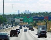 The obligatory photo of the Denver skyline.