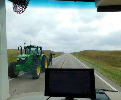 Sharing the road - Kansas Style!