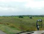 Bucking hay the modern way.