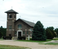 Just a lovely church in a small town.
