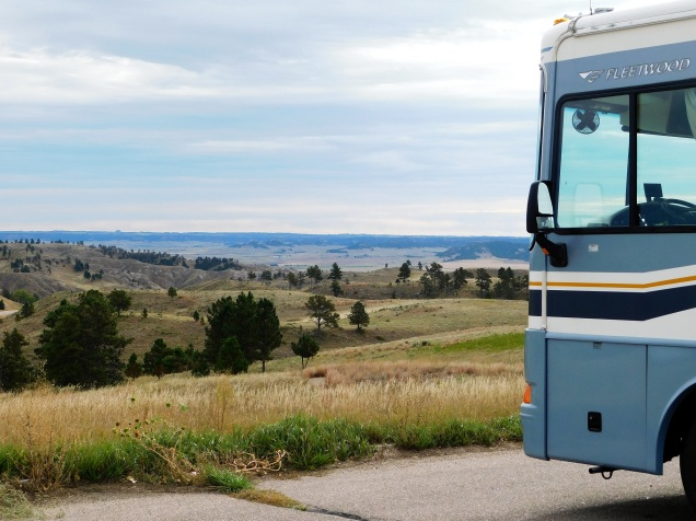 A Nebraska view area - and what a view!