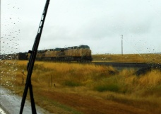 Regular readers will know I have a thing for trains (along with red barns, baled hay, etc., etc.)