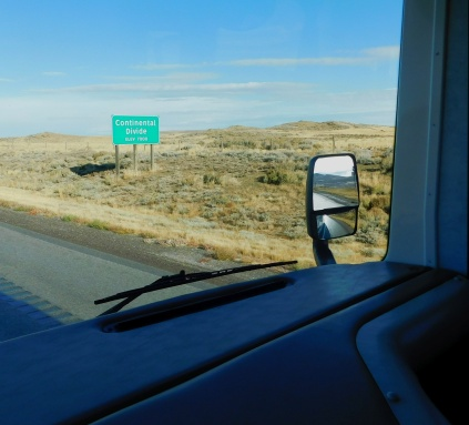 Over the Continental Divide early in the drive. Again. How many can there be?!
