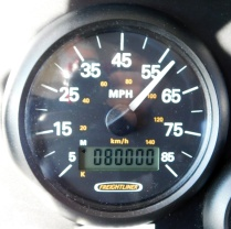 Big Blue turned 80,000 miles early in the day. She's pretty experienced!