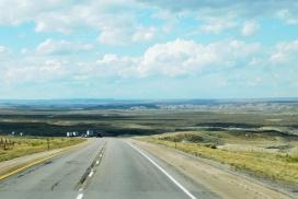 Wyoming is soooo empty!