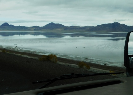 Lovely view somewhere east of the Bonneville area.