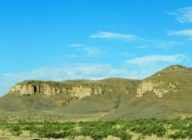 An eye-catching Wyoming formation.