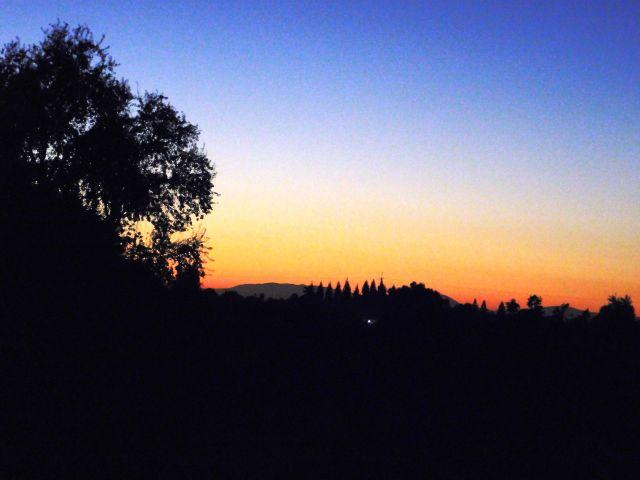 2019-10-31c Halloween sunset