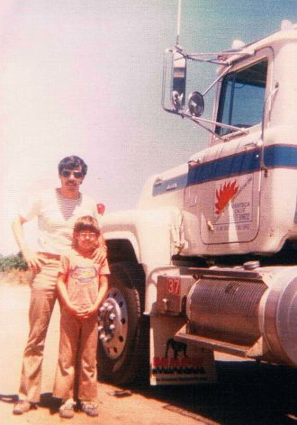 c1979 or so Dean, Dad and my Big Woo