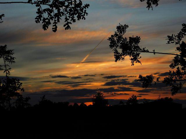 2020-5-14f Gridley sunset