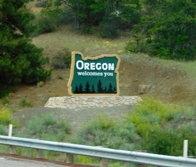 We were welcome in Oregon - I love the place!