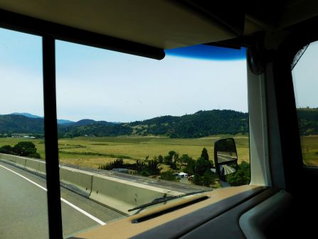 A beautiful Oregon ranch along I-5.