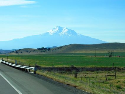 Beautiful Mt. Shasta dominates the entire region.