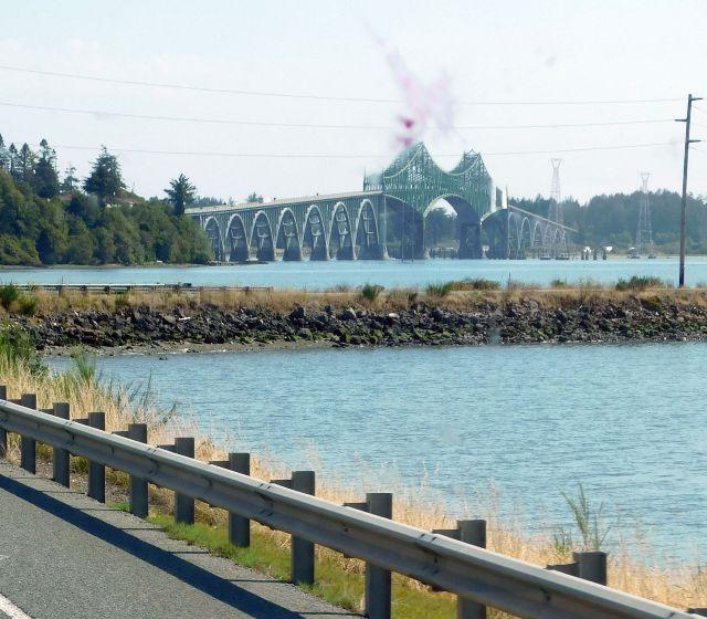 2020-8-16p US101 McCullough Bridge near Coos Bay