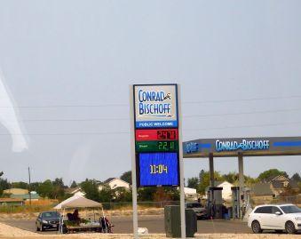 The cheap diesel I found in Nampa, Idaho. Again.