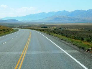 I loved the scenery and the open road.