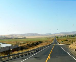 """Why I love the """"back roads"""" of the country. Lovely scenery and very little traffic."""