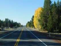 Beautiful US97 and lovely fall colors were beginning to show.