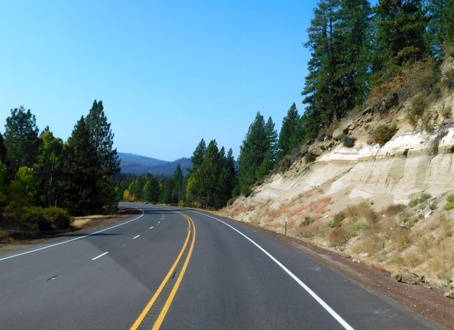 US 97 is a very scenic drive.