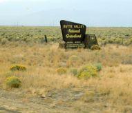 We drove through a part of the Butte National Grassland.