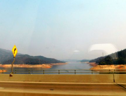 Lake Shasta was as low as I recall seeing it. We needed a wet winter, but a La Nina, a less than normal rainy season, was predicted.