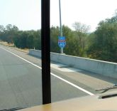 Once on I-80 we'd be on it clear to the east side of Wyoming.