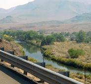 Still following the picturesque Truckee River long after we entered Nevada.