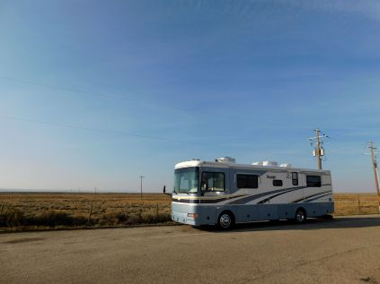 Dale's Diner in wide open, wind-swept Wyoming.
