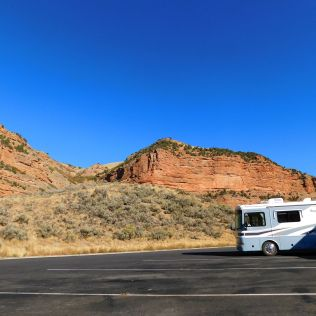 A Utah Rest Area - and LTE cell coverage!