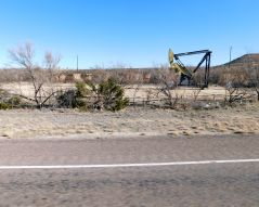 This explains a bit of the local economy, as I saw several oil wells.